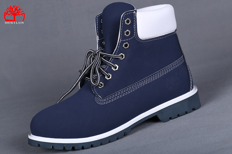 chaussure timberland femme bleu