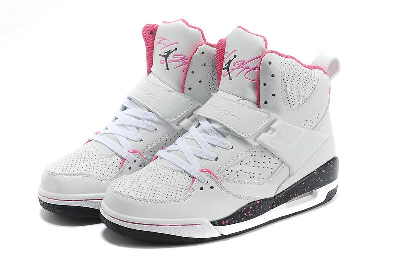 chaussure jordan femme,air jordan flight 45 blanche et rose ...