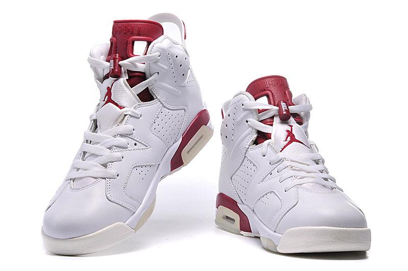 air jordan 6 rouge et blanc
