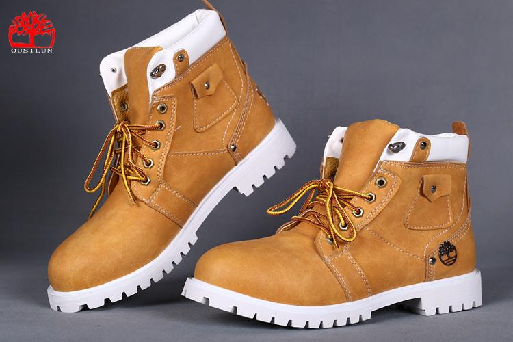 chaussure timberland homme jaune